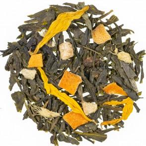 Zeleni čaj z aromo Ingver limona