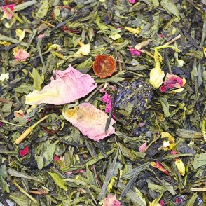 Zeleni čaj z aromo Sakura japonska češnja