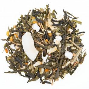 Zeleni čaj z aromo Kokosov poljubček