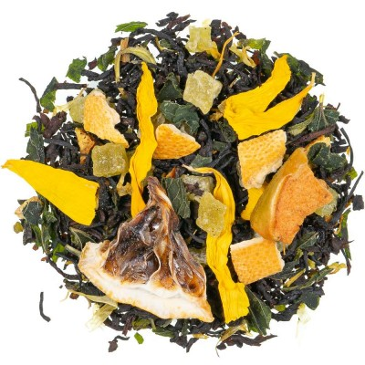 Črni čaj z aromo Mojito mint