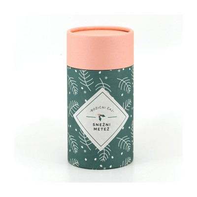Črni čaj z aromo Snežni metež-Božična embalaža (100g)