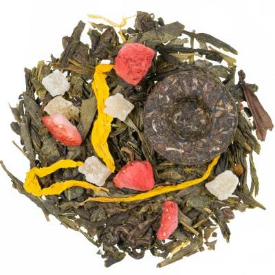 Zeleni čaj z aromo 8 zakladov s templja Shaolin