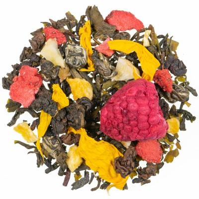 Zeleni čaj z aromo Afriško srce