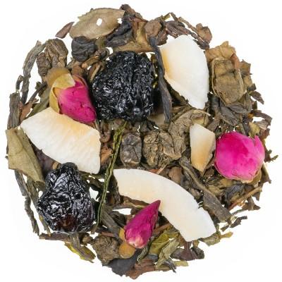 Zeleni čaj z aromo Japonska bela češnja