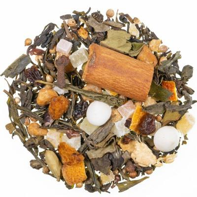 Zeleni čaj z aromo Panforte di Siena