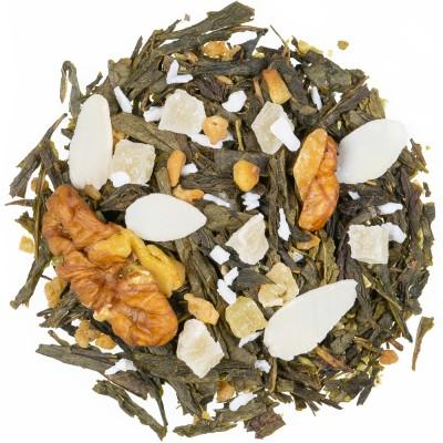 Zeleni čaj z aromo Orehova potica