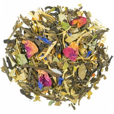 Zeleni čaj z aromo Zlati vrt