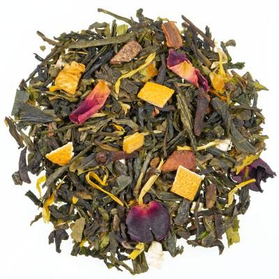 Zeleni čaj z aromo Zimski dan