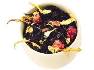 Čaj tedna: zeleni aromatizirani čaj Afriško srce
