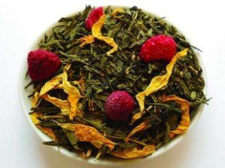 Čaj tedna: zeleni aromatizirani čaj Zmajeva sreča