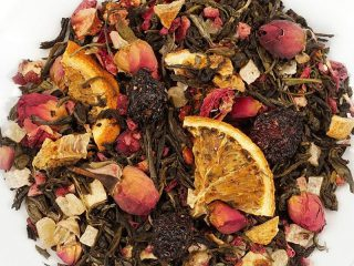 Čaj tedna: zeleni aromatizirani čaj Afriške sanje