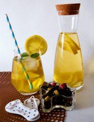 Ledeni čaj: Japonska bela češnja z melono